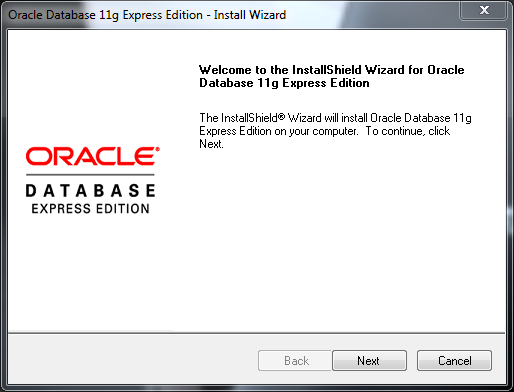 Installing Oracle Database 11g XE and Unlocking the HR