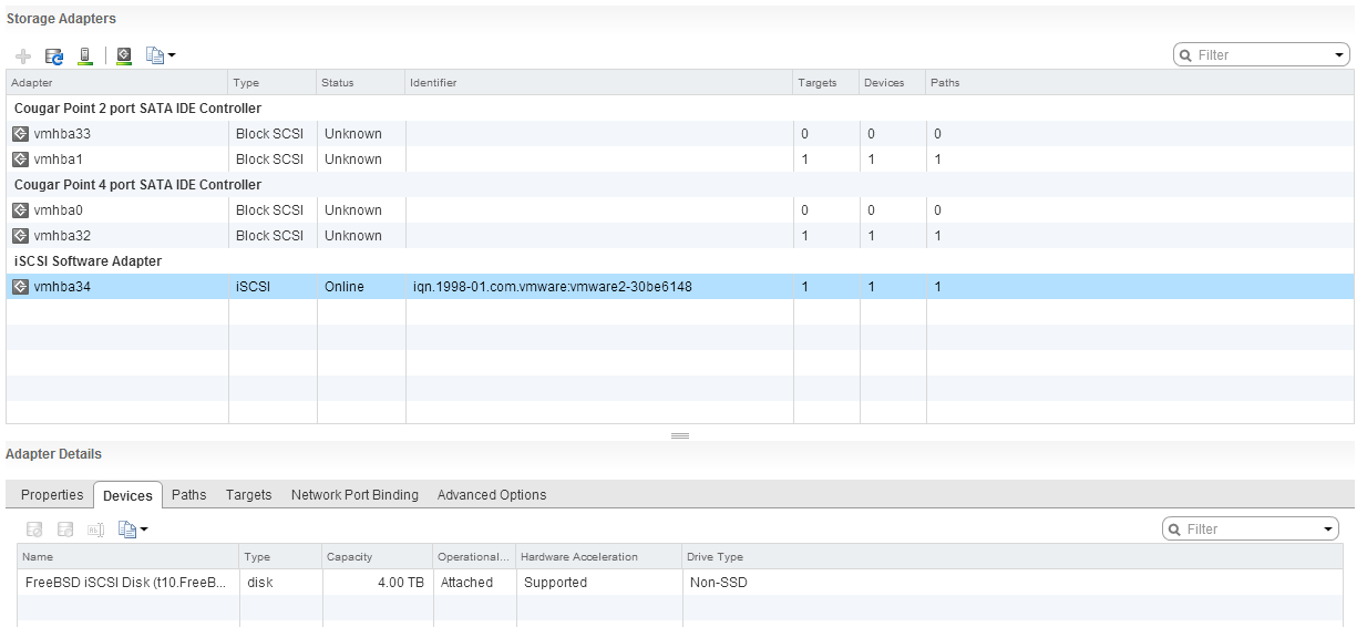 Deploying FreeNAS as iSCSI SAN for VMware vSphere – M&S Consulting