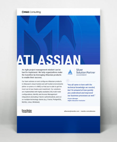 M&S Consulting Atlassian Government Silver Solution Partner