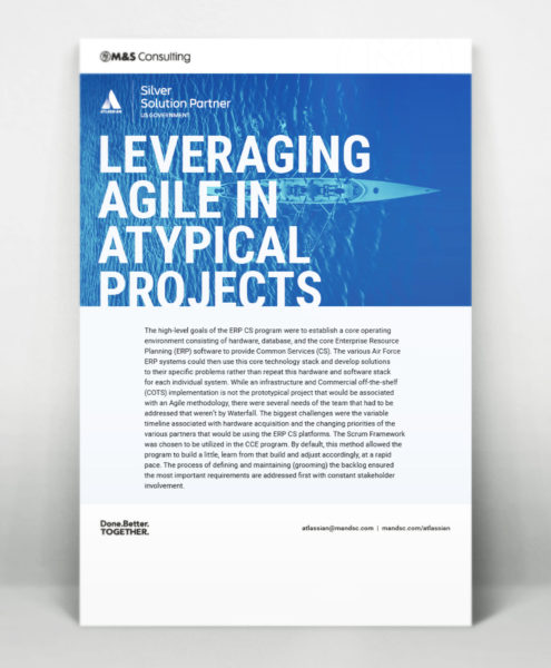 Leveraging Agile in Atypical Projects