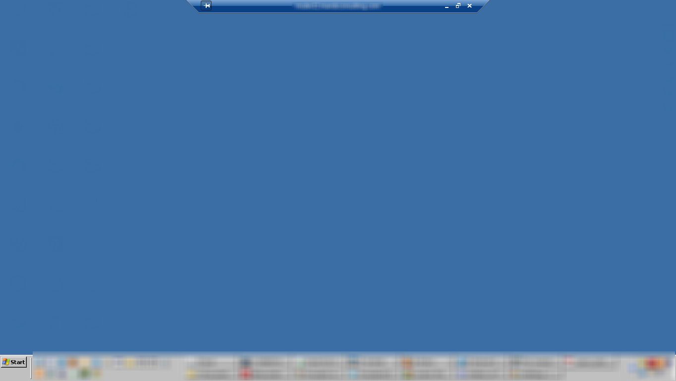 Remote Desktop – From Maximized to Full Screen (Windows 7
