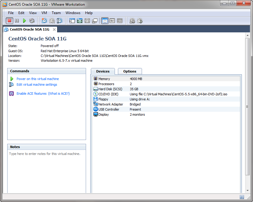 Virtual Machines for Development – VMWare Player, VMWare ESXi