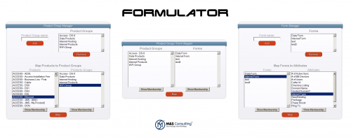 Enterprise, Dynamic Web Form Generation – Formulator – M&S
