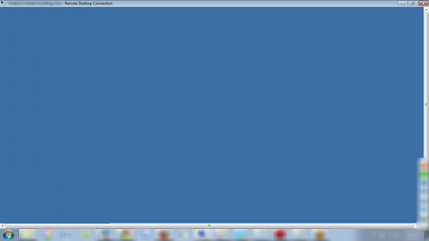 Remote desktop from maximized to full screen windows 7 for Window remote desktop