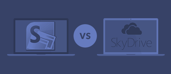 SharePoint vs SkyDrive-F