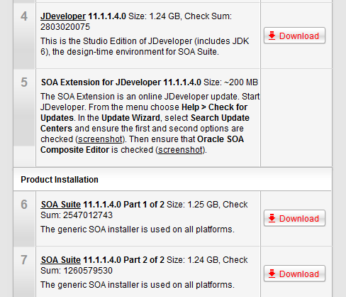 how to download oracle 11g software for linux