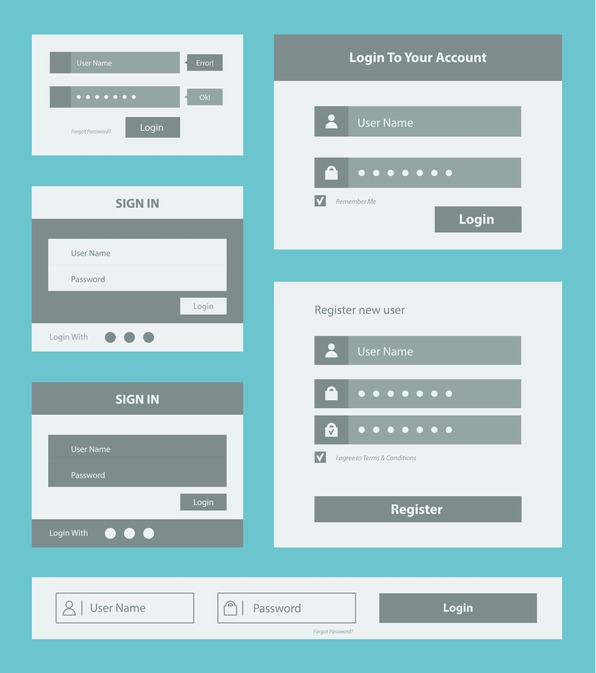 user interface form